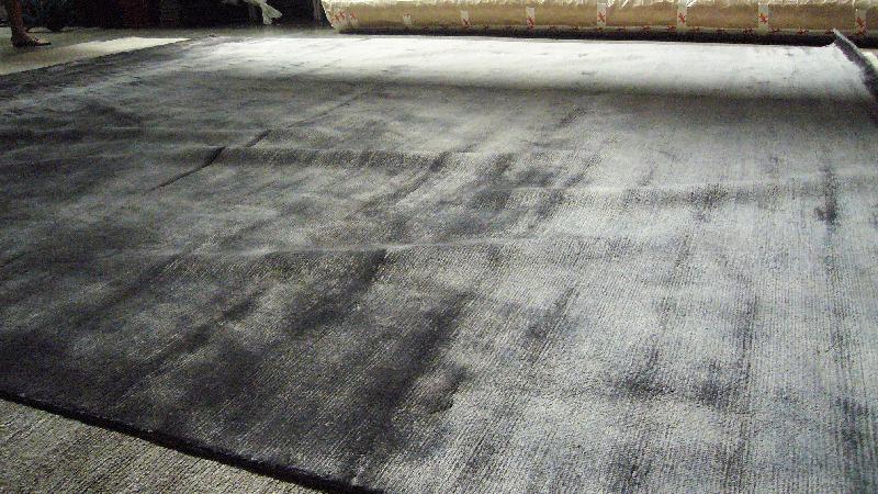 Tapis realises au nepal lina carpets - Tapis laine contemporain solde ...